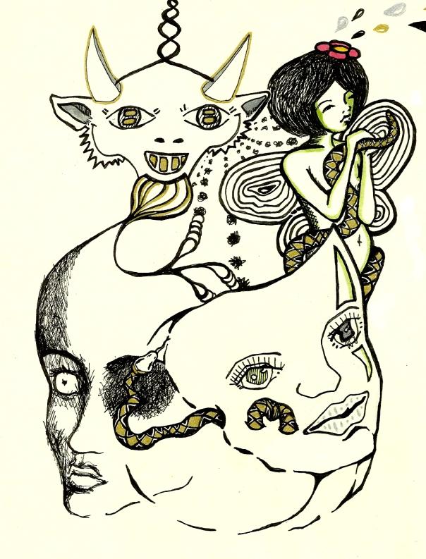 masks and devils